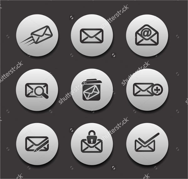 Graphic design Email Icon