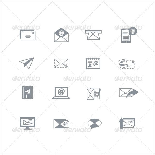 Variety of Email Icon