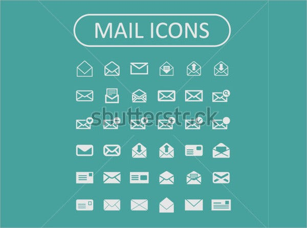 vector mail icon