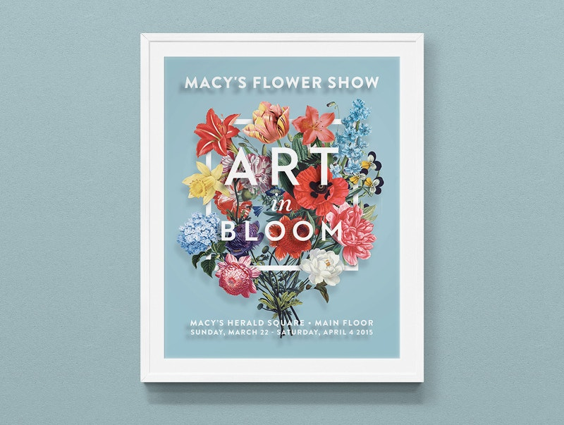 Flower Show Poster Free