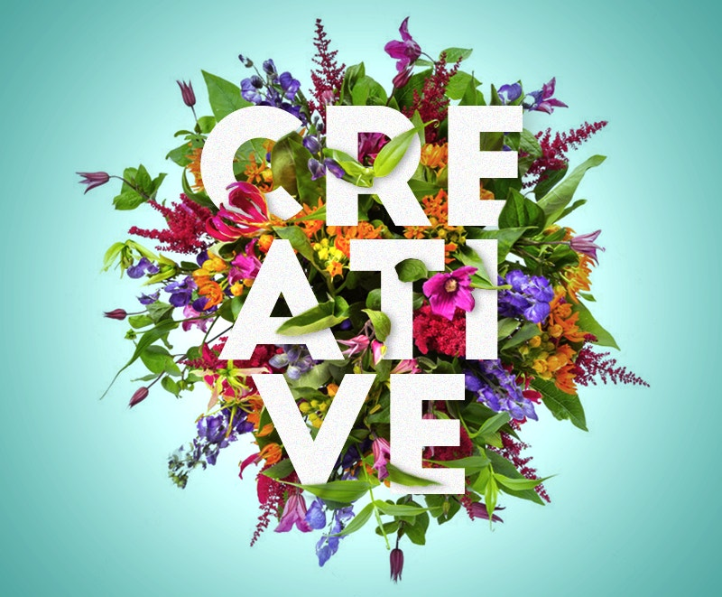 Floral Creative Typography Free