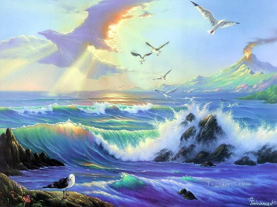 Fantasy Painting of Sea