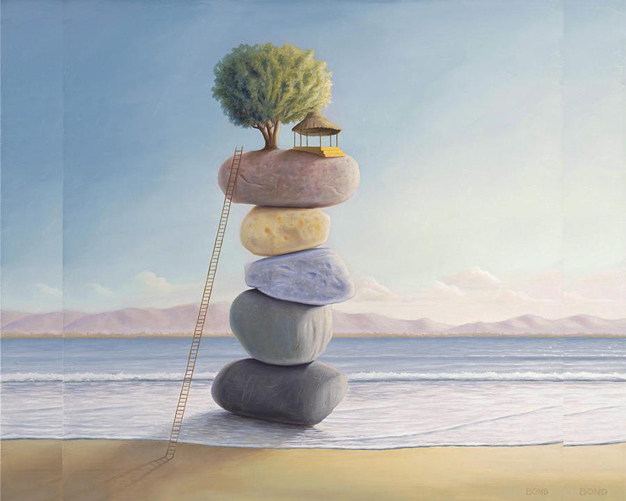 Conceptual Balance Painting