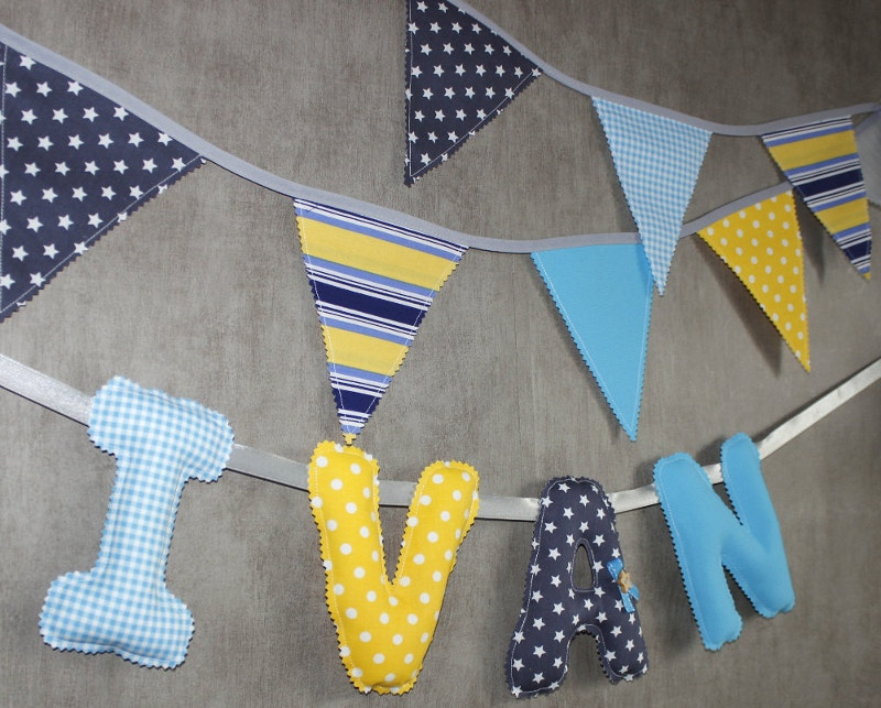 home decoration fabric flags banner