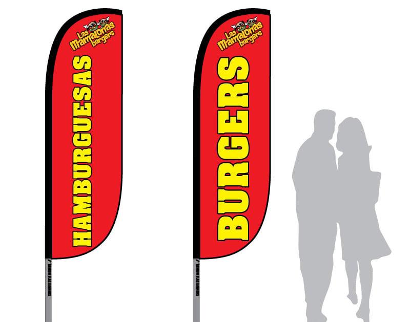 graphic design flag banner