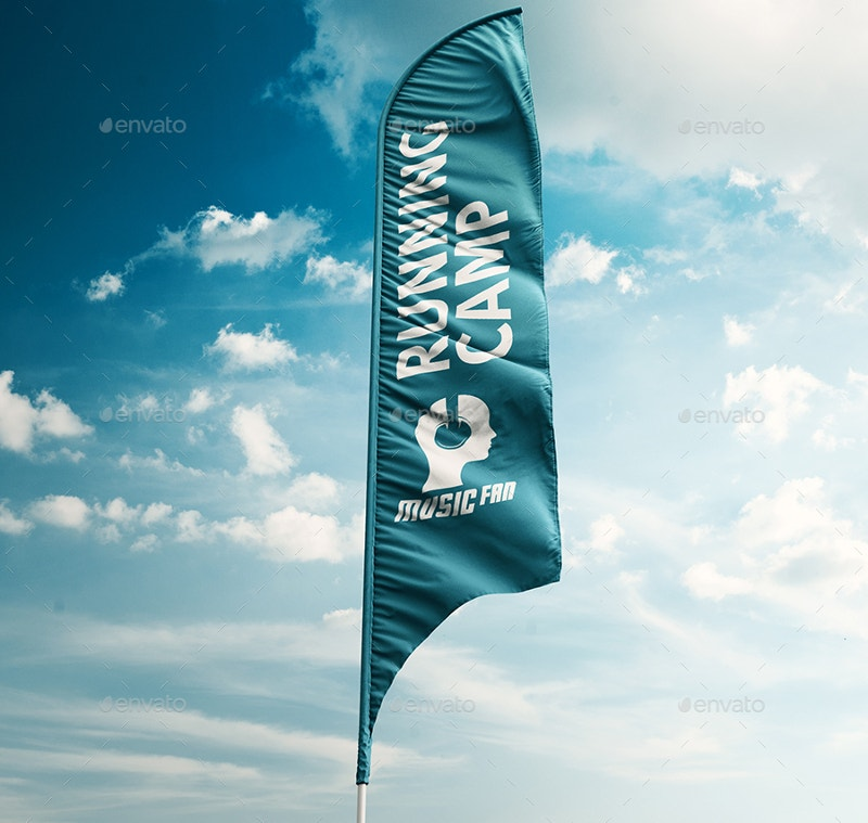 3d feather flag banner