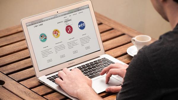 navigation website designs