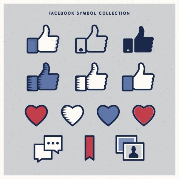 Variety of Facebook Icon