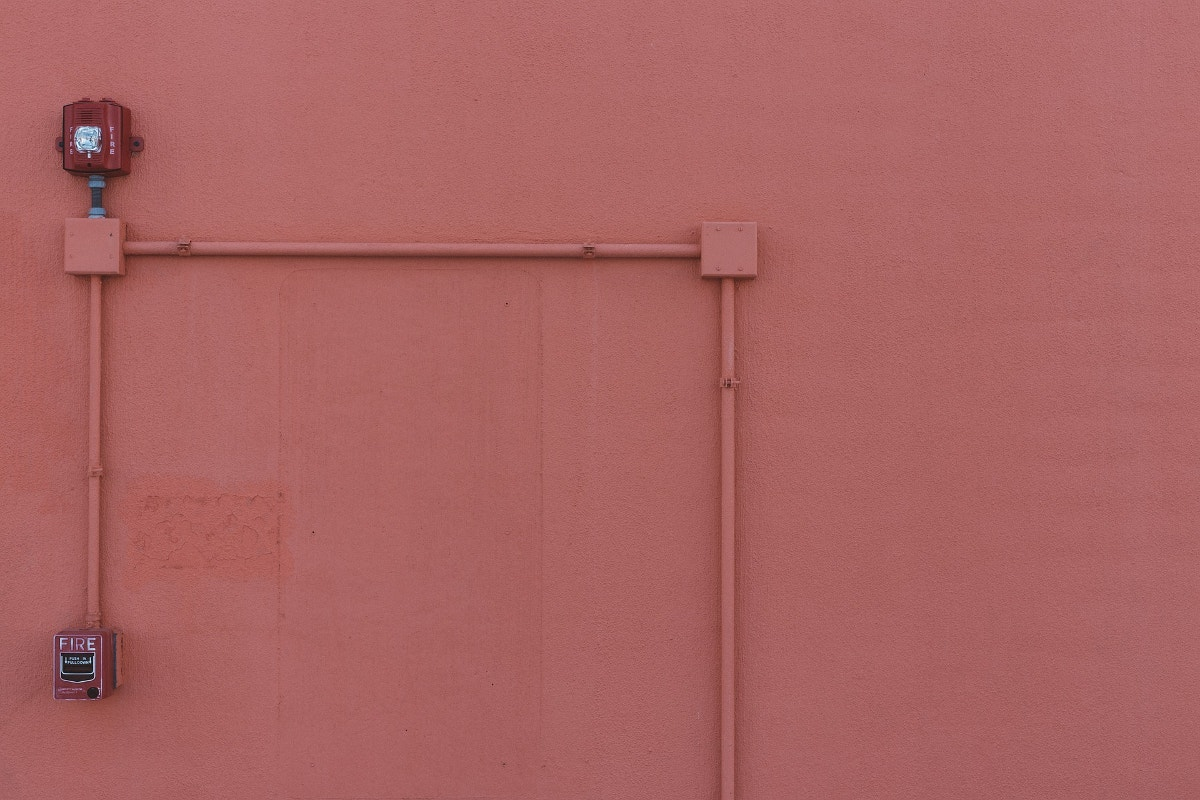 Minimal Photography of Wall