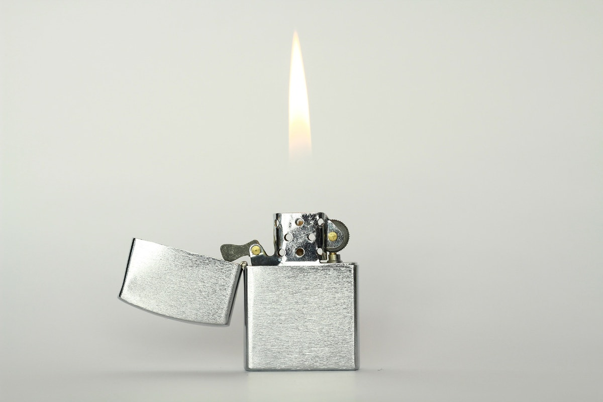 Lighter and Flame Photography