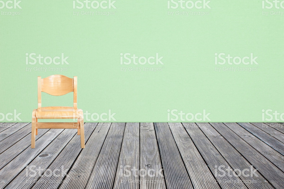 chair on wooden floor
