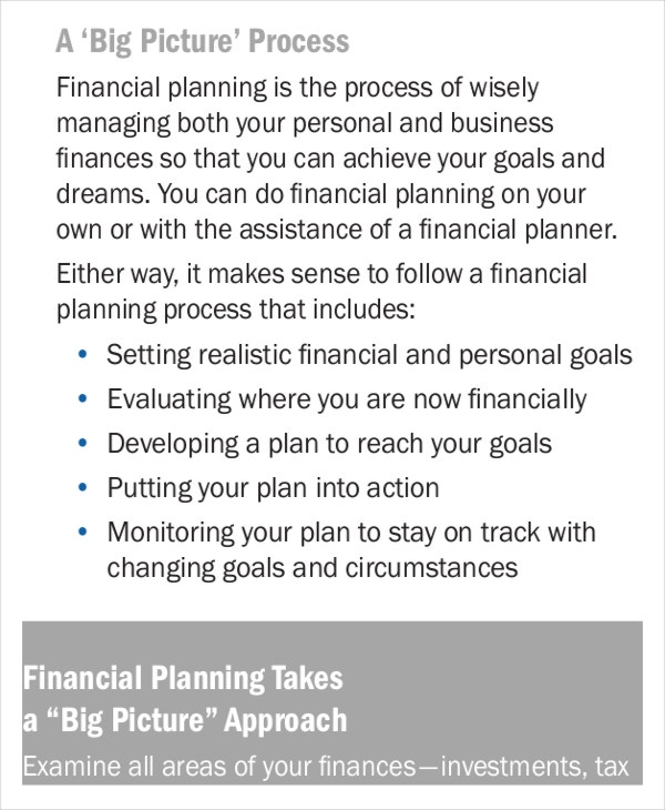 Business Plan Templates Free Premium Templates - Small business financial plan template