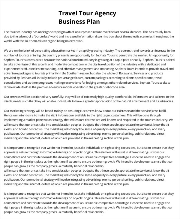 20+ Business Plan Templates | Free & Premium Templates