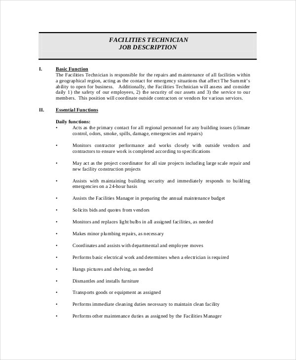facility-maintenance-technician-job-description-free-download