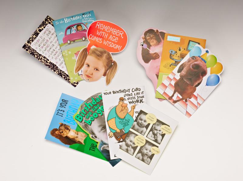 Die Cut Greeting Card Design