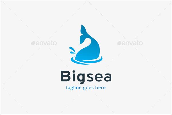 big sea business logo template