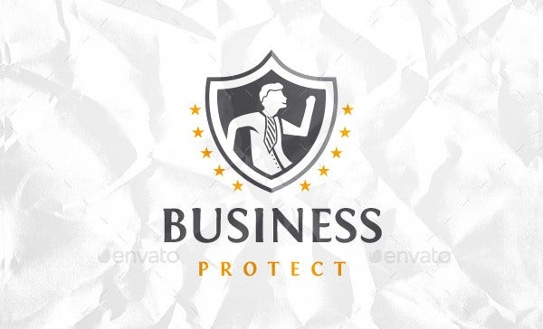 Business Security Logo Template