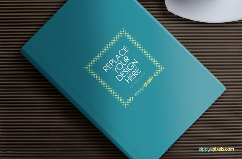 web design book mockup