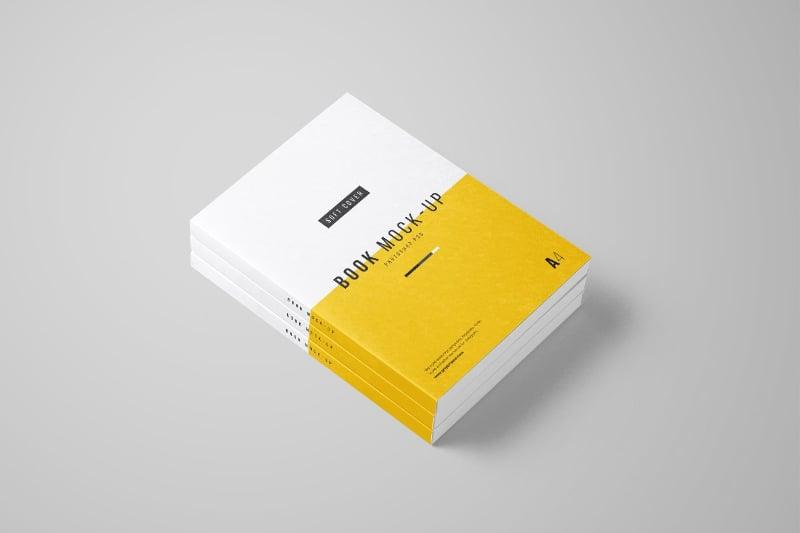 8 Free Book Mockups