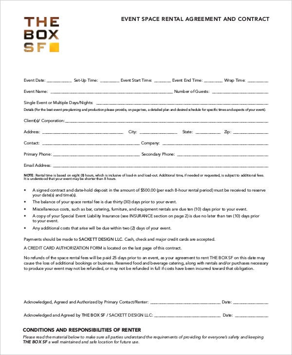 event-room-rental-agreement-template