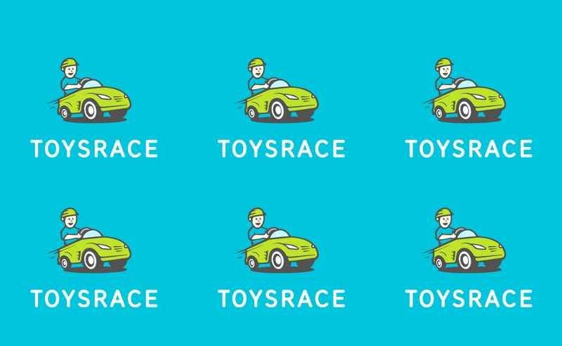 toys race car logo