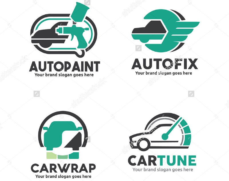 car service logo design