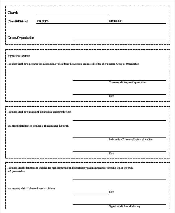 15 Receipt Templates – Donation Receipt Sample