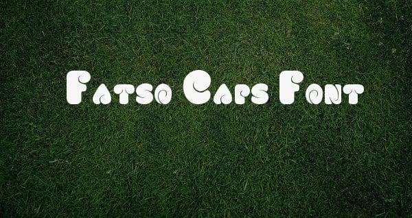 Fatso Caps Font