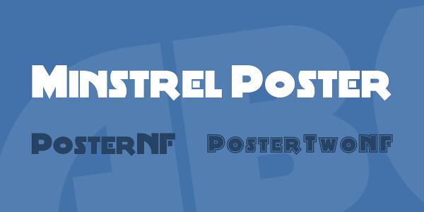 Minstrel Poster Font Family