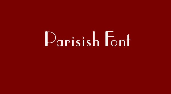 party theme font