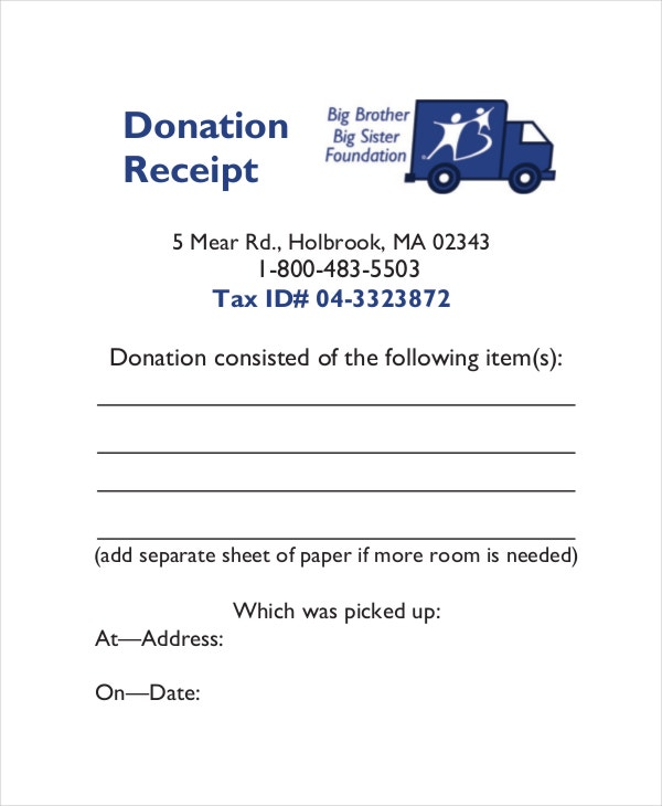 charitable donation receipt template koni polycode co