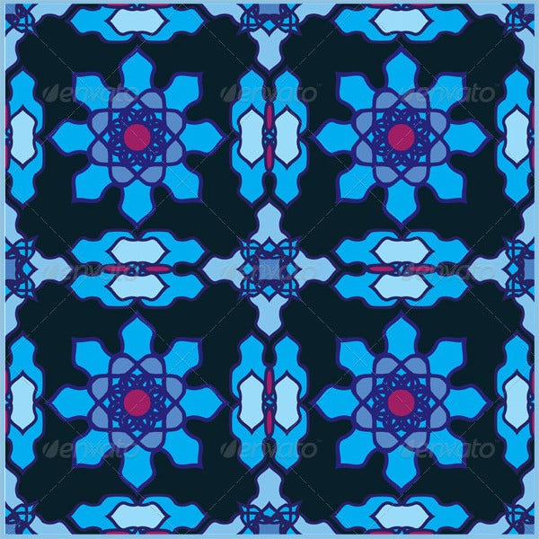 classical arabic stained glass