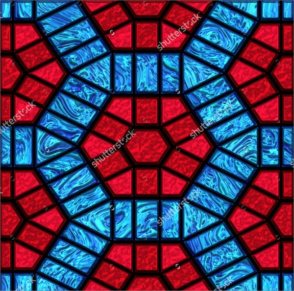 Simple Stained Glass Pattern