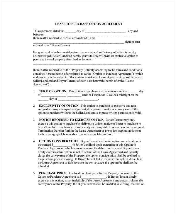 12 Commercial Lease Agreements Word Pdf Pages Free Premium