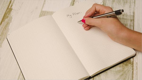 schedule planner templates
