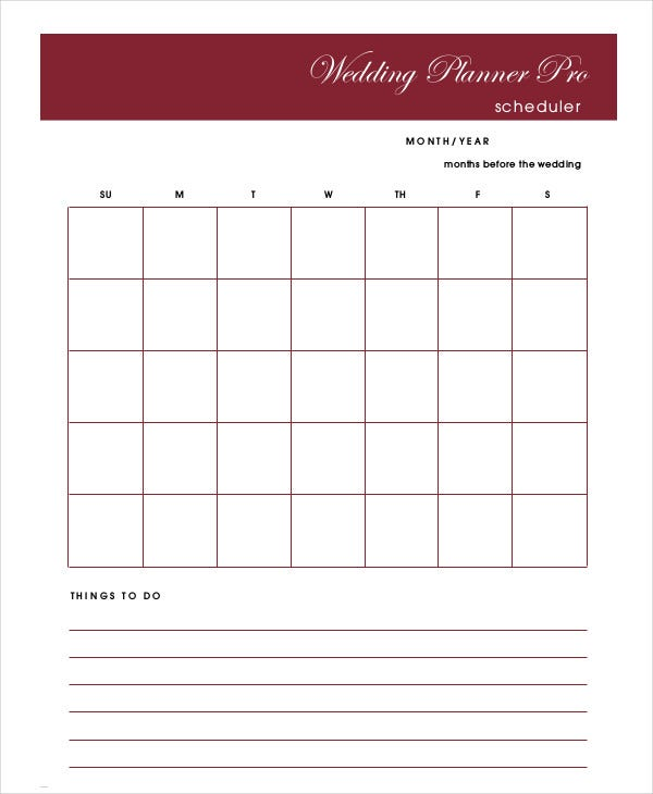 wedding-schedule-planner