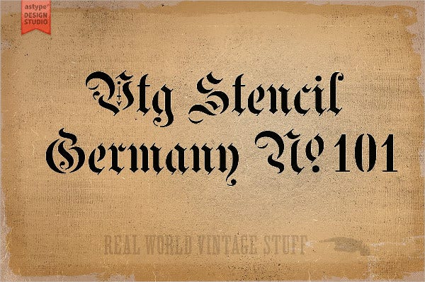 Germany Style Font