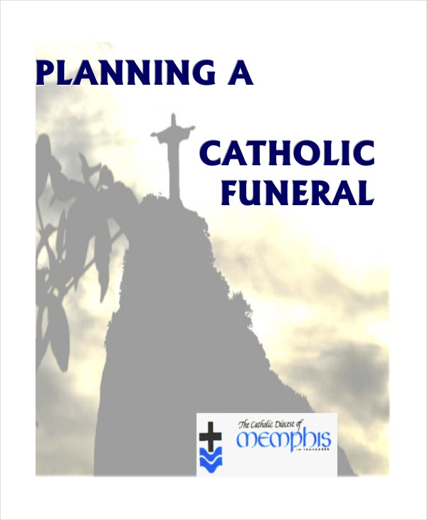 17 Funeral Program Templates – Catholic Funeral Program