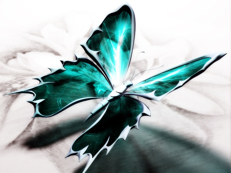 Metal Artwork of Butterfly