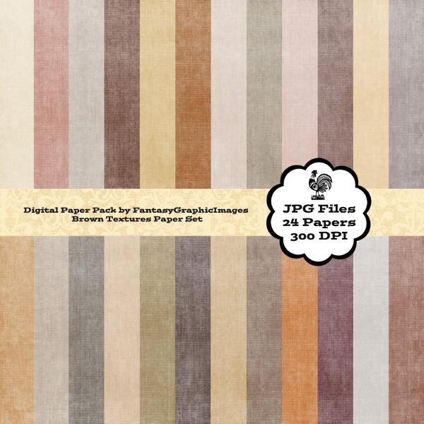 digital paper brown grunge texture