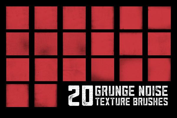 grunge noise texture brushe