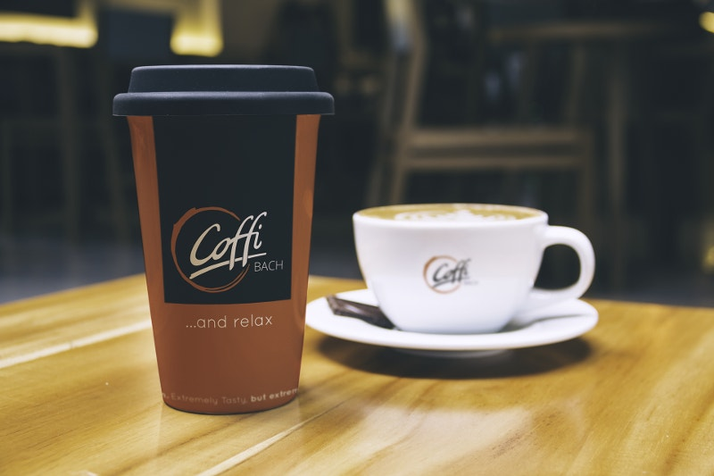 Print Design Coffee Logo