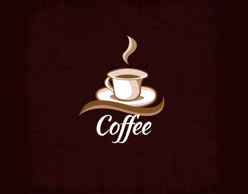 free vector coffee cup logo