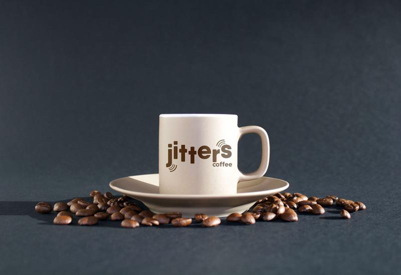 digital art coffee logo