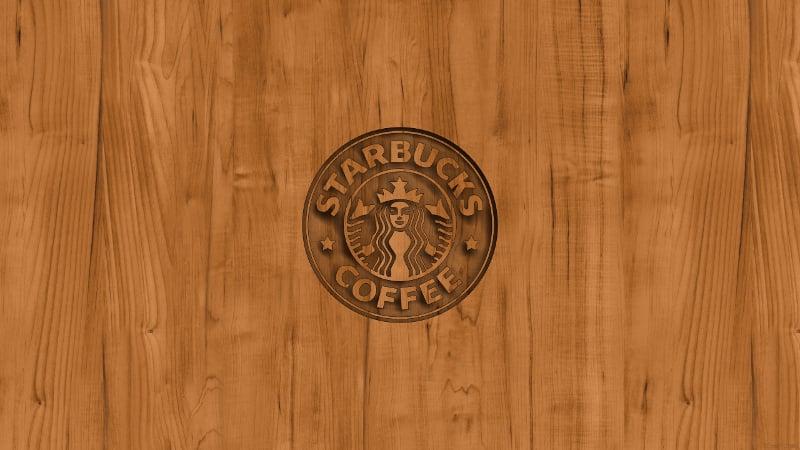 coffee logo wood wallpaper