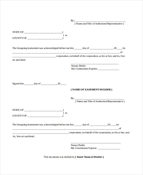 Blank Subordination Agreement Form