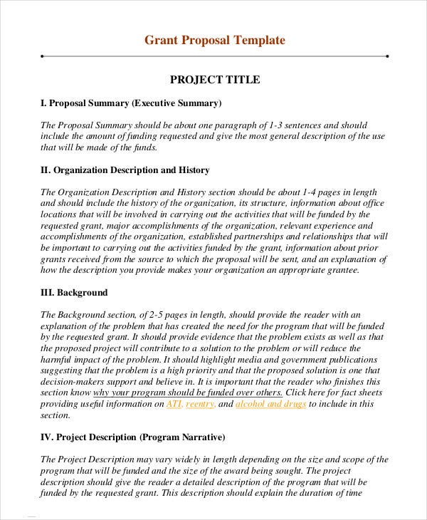 project-grant-proposal-template