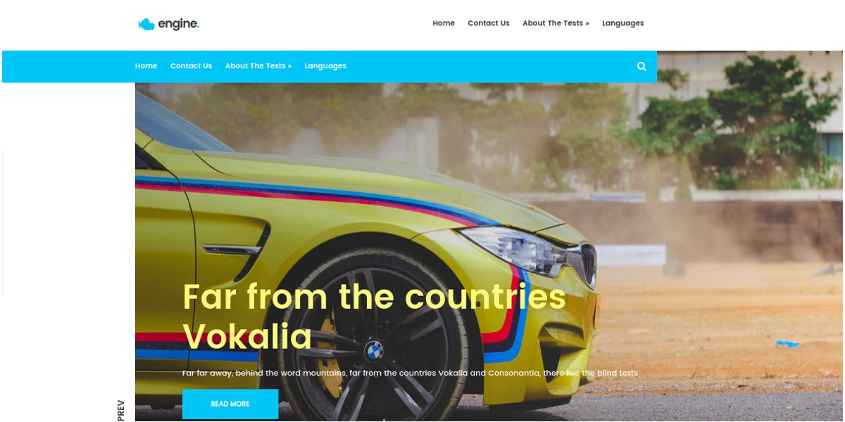free-automotive-wordpress-theme