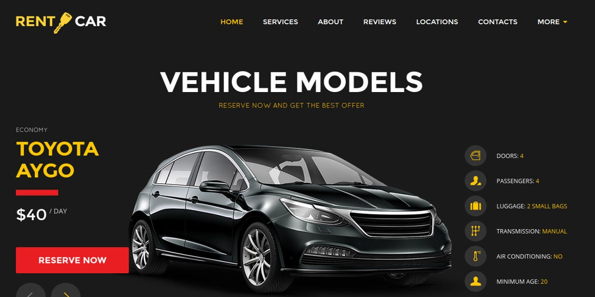 automotive-car-rental-wordpress-theme-landing-page