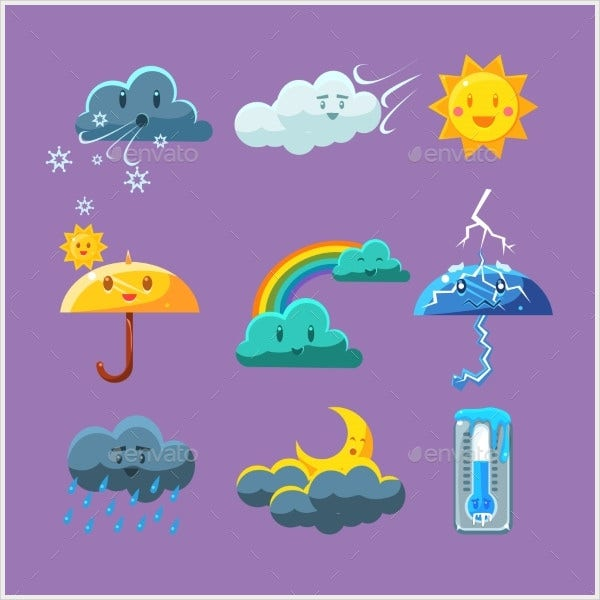 Childish Weather Icon